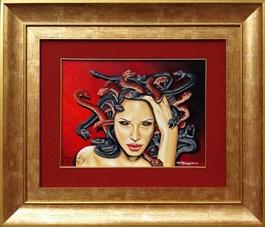 Obraz do salonu artysty Krzysztof Żyngiel pod tytułem Śmiercionośna meduza