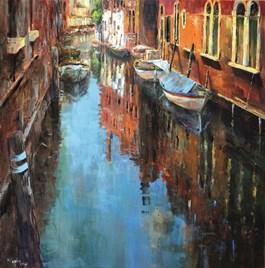 Obraz do salonu artysty Magdalena Kępka pod tytułem Wenecja