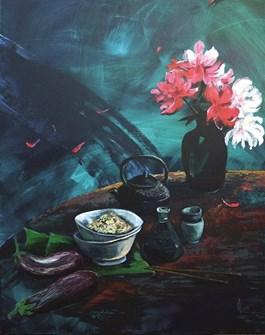 Obraz do salonu artysty Anna Schumacher pod tytułem Orientalna martwa natura