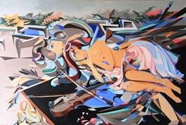 Obraz do salonu artysty Filip Gruszczyński pod tytułem Fleur de Fougere