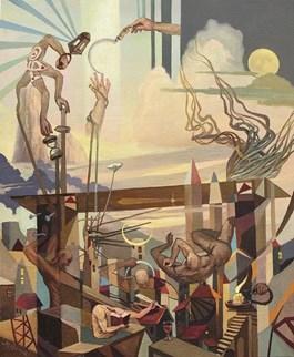 Obraz do salonu artysty Igor Mościcki pod tytułem Genesis