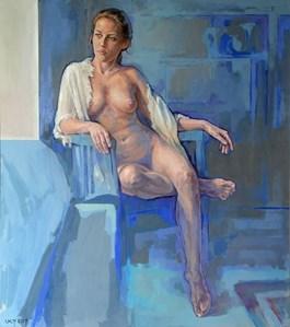 Obraz do salonu artysty Marcin Jaszczak pod tytułem Blue Room
