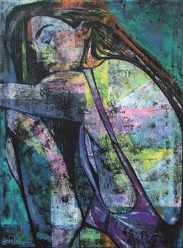 Obraz do salonu artysty Anna Cieśluk pod tytułem Summertime 3