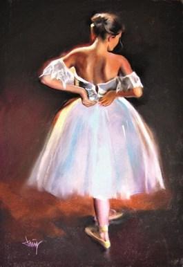 Obraz do salonu artysty Domingo Alvarez Gomez pod tytułem Baletnica