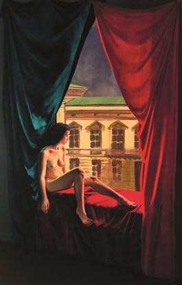 Obraz do salonu artysty Martin Imrich pod tytułem Polhymnia