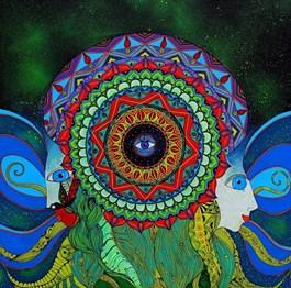 Obraz do salonu artysty Luiza Poreda pod tytułem W poszukiwaniu harmonii