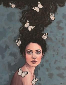 Obraz do salonu artysty Viola Bąbol pod tytułem Muza Maria