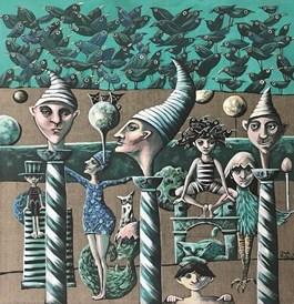 Obraz do salonu artysty Magdalena Rytel-Skorek pod tytułem Sen