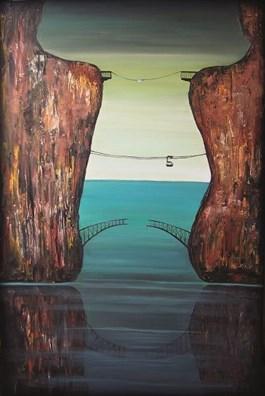 Obraz do salonu artysty Sabina Maria Grzyb pod tytułem Integracje III