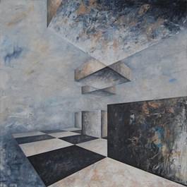 Obraz do salonu artysty Iwona Gabryś pod tytułem Kompozycja nr 114