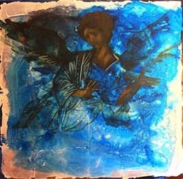 Obraz do salonu artysty Sylwia Perczak pod tytułem Niebieski 2017