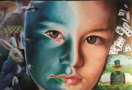 Obraz do salonu artysty Patrycja Kruszynska-Mikulska pod tytułem Magiczny dzień Alicji