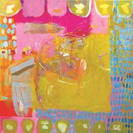 Obraz do salonu artysty Nina Rostkowska pod tytułem Spotkanie z czarnym słonecznikiem