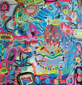 Obraz do salonu artysty Anna Jarzymowska pod tytułem Bez tytułu (1)