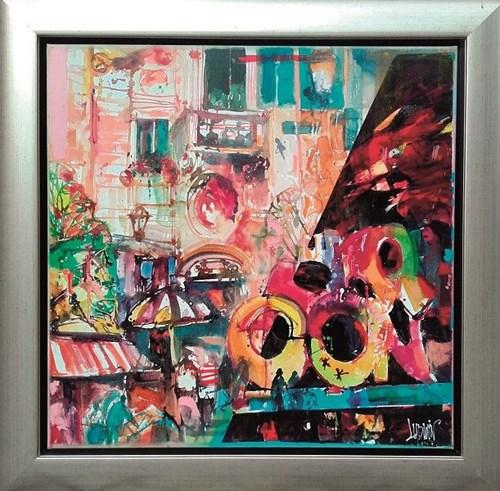 Obraz do salonu artysty Krzysztof Ludwin pod tytułem Bruksela i murale