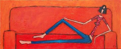 Obraz do salonu artysty Małgorzata Stępniak pod tytułem Kobieta