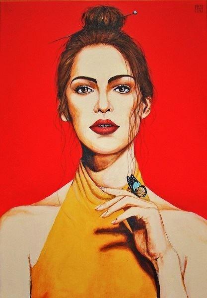 Obraz do salonu artysty Renata Magda pod tytułem Red