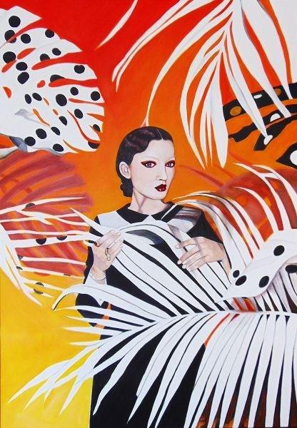 Obraz do salonu artysty Michał Zalewski pod tytułem Bez tytułu
