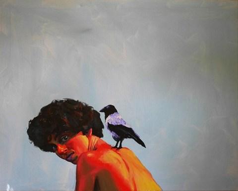 Obraz do salonu artysty Piotr Starościc pod tytułem Bez tytułu
