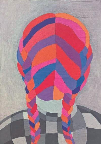 Obraz do salonu artysty Viola Tycz pod tytułem Przeszłość