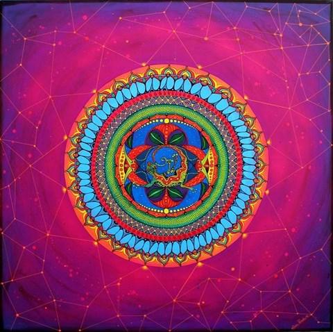 Obraz do salonu artysty Luiza Poreda pod tytułem Inner galaxy