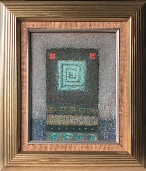 Obraz do salonu artysty Tomasz Lubaszka pod tytułem Błękitny
