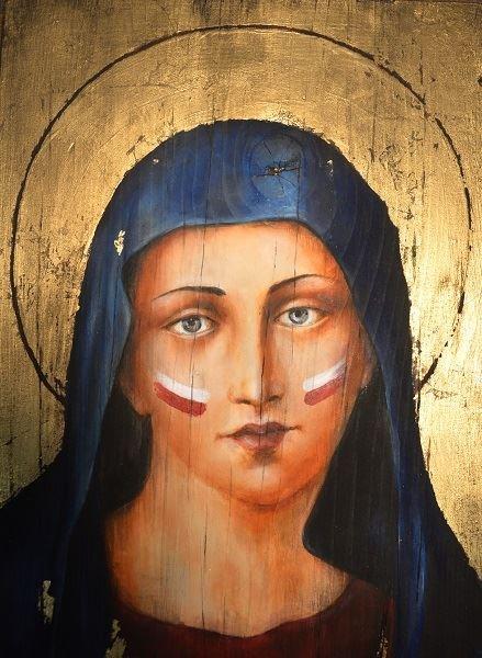 Obraz do salonu artysty Borys Fiodorowicz pod tytułem Była Polką