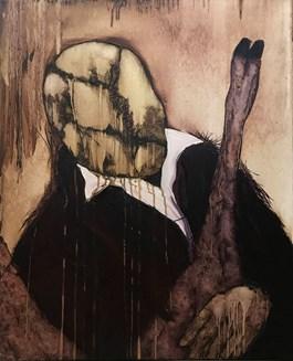 Obraz do salonu artysty Michał Jankowski pod tytułem Doktor