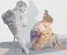 Obraz do salonu artysty Adam Wątor pod tytułem Chłodne spojrzenie