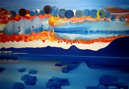Obraz do salonu artysty Grzegorz Drozd pod tytułem 17 Słońc