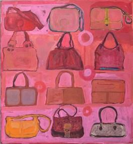 Obraz do salonu artysty Tomek Mazur pod tytułem Torebki