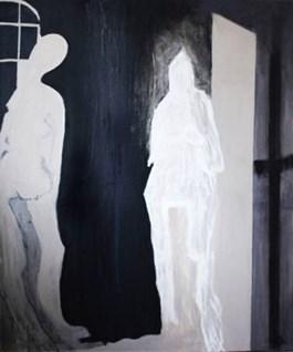 Obraz do salonu artysty Edyta Duduś pod tytułem Spotkanie