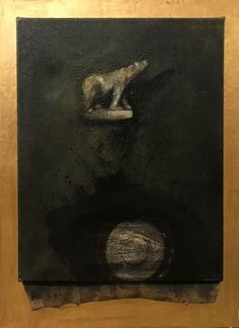 Obraz do salonu artysty Paweł Napierała pod tytułem Bez tytułu