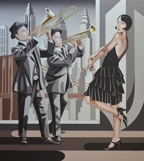 Obraz do salonu artysty Tomasz Kostecki pod tytułem COTTON CLUB