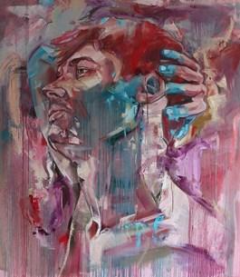 Obraz do salonu artysty Bastien Ducourtioux pod tytułem A MELANCHOLIC PATH