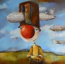 Obraz do salonu artysty Małgorzata Piątek-Grabczyńska pod tytułem OSTATNIA PARADA