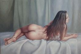 Obraz do salonu artysty Wojciech Piekarski pod tytułem AKT