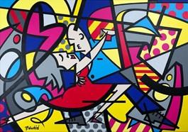 Obraz do salonu artysty Marcin Gregorczuk pod tytułem MILONGA