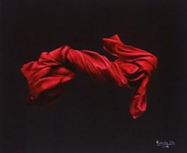 Obraz do salonu artysty Agnieszka Sitko pod tytułem CAŁUNY CZERWONE II