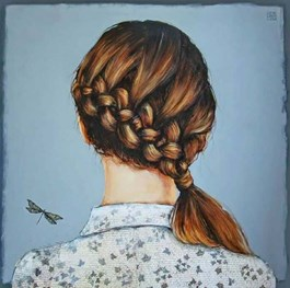 Obraz do salonu artysty Renata Magda pod tytułem LITTLE FRIENDSHIP