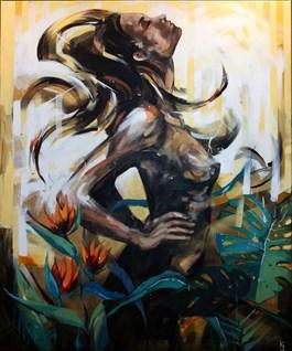 Obraz do salonu artysty Kamila Jarecka pod tytułem SUNLIGHT