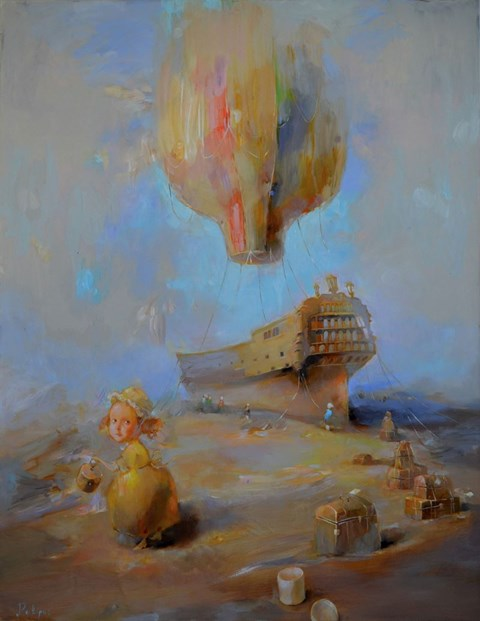 Obraz do salonu artysty Olga Pelipas pod tytułem VOYAGE