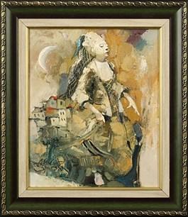 Obraz do salonu artysty Alex Sporski pod tytułem ŚNIEŻNA KRÓLOWA