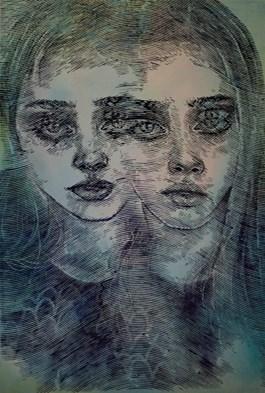 Obraz do salonu artysty Kamil Kmiecik pod tytułem PRACA WYCOFANA