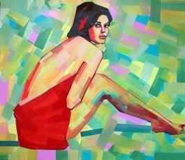 Obraz do salonu artysty Piotr Kachny pod tytułem GOODLOOUCK