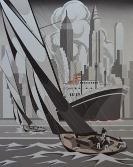 Obraz do salonu artysty Tomasz Kostecki pod tytułem BATORY