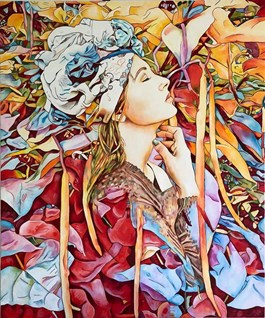 Obraz do salonu artysty Joanna Szumska pod tytułem MATKA NATURA