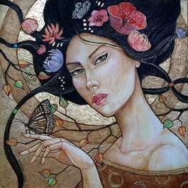 Obraz do salonu artysty Joanna Misztal pod tytułem ĆMA