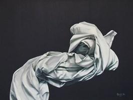 Obraz do salonu artysty Agnieszka Sitko pod tytułem CAŁUNY - IV