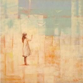 Obraz do salonu artysty Ilona Herc pod tytułem POD ŚWIATŁO II
